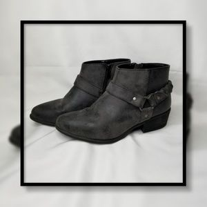 Bamboo Braided Strap Bootie